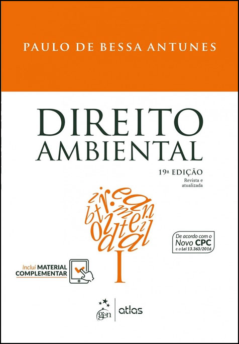 DIREITO AMBIENTAL - (Antunes)